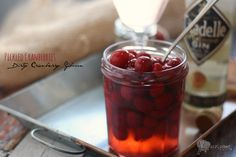 Pickled Cranberries and a Dirty Cranberry Gibson