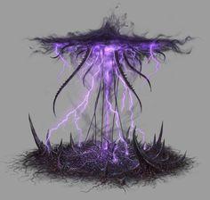 Death Rift from Rift: Planes of Telara Fantasy Concept Art, Weapon Concept Art, Fantasy Character Design, Dark Fantasy Art, Fantasy Artwork, Character Art, Elemental Magic, Magic Design, Arte Obscura