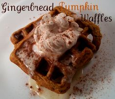 The Farm Girl Recipes: Gingerbread Pumpkin Waffles - these were delish!!!!!! Made them last weekend!