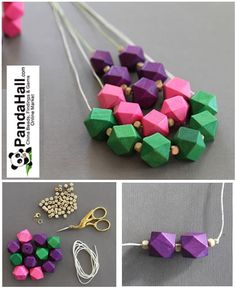 Pandahall.com offers you jewelry making ideas and easy picture instruction to help you to finish this beads necklace.