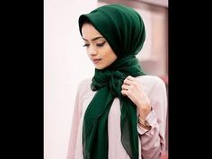 احدث لفات الطرح للعيد😘 / موضة 2020للمحجبات 😍😍 كونى مختلفة - YouTube Islamic Fashion, Muslim Fashion, Modest Fashion, Hijab Fashion, Modest Wear, Modest Outfits, Modern Hijab, Muslim Dress, Hijab Tutorial