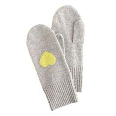 Girls' chat mittens