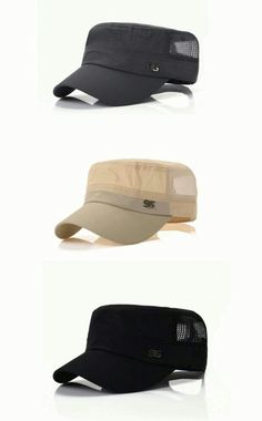 Men Outdoor Sport Flat Baseball Quick-dry Hat Leisure Adjustable Snapback  Net Cap is hot sale on Newchic. c6be0323f1ae