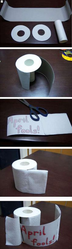 april fools day pranks This would be perfect in my house...especially when your husband has a timed schedule, lol!