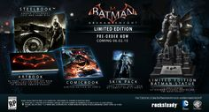 the arkham knight special edition | Batman: Arkham Knight Limited Edition
