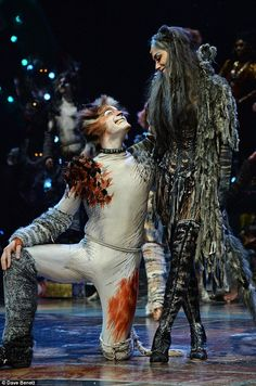 Confident: Nicole has been playing Grizabella the Glamour Cat since December 6 and recently told MailOnline, 'It's the part I was born to do. It's a once in a lifetime opportunity' Cats The Musical Costume, Cats Musical, Musical Theatre, Jennifer Hudson, Theatre Costumes, Movie Costumes, Jellicle Cats, Sexy Backless Dress, Anxiety Cat