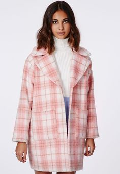 Lena Cocoon Coat - Coats & Jackets - Missguided