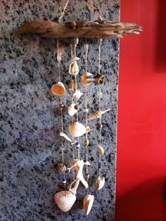 Sea shell wind chime!