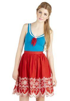 Fiddle and Flair Skirt, #ModCloth