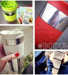 La Travel Press de BODUM: Cafetera, termo y mug de viaje