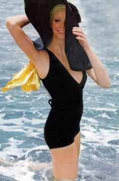Maudie James by Peter Knapp 1973 - UK Vogue : this is how i want to look on my french riviera vacation!