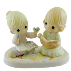 Precious Moments Dear Friend My Love For You Will Never Fade Away Figurine Height: 4.5 Inches Material: Porcelain Type: Figurine Brand: Precious Moments Item Number: Precious Moments 114018 Catalog ID