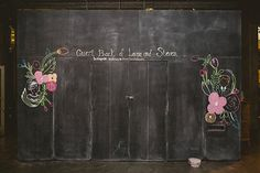 Photo from Steven and Laura wedding collection by Roger Ellsworth. Art by Cami Robinson. Jina Javier Events, EP Love Wedding, and Modern Bouquet Wedding Chalk Art, Chalk Artist, Special Day, Cami, Bouquet, Events, Modern, Collection, Trendy Tree