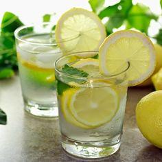 Limonade zum Kindereburtstag servieren