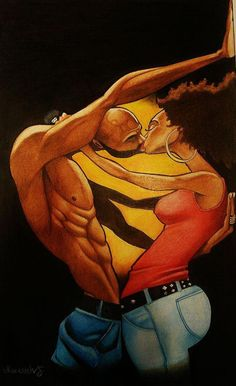 Black Art in America reaches an engaged audience of arts & cultural enthusiasts worldwide looking for relevant news on African American Art. Sexy Black Art, Black Love Art, Black Girl Art, Black Is Beautiful, Simply Beautiful, African American Artwork, African Art, Black Art Pictures, Art Of Love