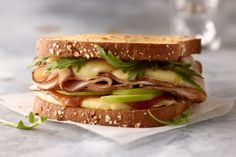 Find a variety of nutritious and easy turkey recipes made with flavorful JENNIE-O® Turkey. Perfect for your next breakfast, lunch or dinner! Jennie O Turkey, Easy Turkey Recipes, Lunch Time, Apple Cider, Food To Make, Sandwiches, Toast, Dinner, Breakfast