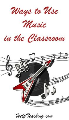 3 Ways to Use Music in the Classroom - With all the benefits music offers, it shouldn't just be relegated to the music classroom. Celebrate Music in Our Schools Month, and music year round, with these music activities in your classroom. #education #musiced #teachers
