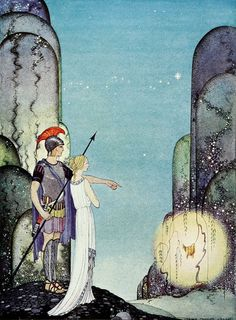 Golden Age Book Illustrations  Virginia Sterrett - Tanglewood Tales