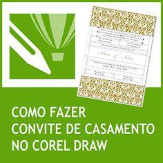Convites Casamento Corel Draw