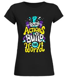 FA Actions Build World T Shirt