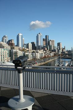 Downtown Seattle from Pier 66
