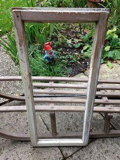 Weiteres - ☼ Großes URaltes Bleisprossen-Fenster ☼ - ein Designerstück von Danys-Classic-Collection bei DaWanda Alter, Ladder Decor, Designer, Etsy, Home Decor, Picture Frames, Windows, Homes, House