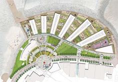 Plan of Morecambe Central Promenade Redevelopment Site