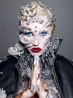 she-loves-fashion:  Brooke Candyby Richard Burbridgefor Paper Magazine 2014