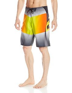 Billabong Mens Fluid Boardshorts Orange 34 *** Click the VISIT button to view the swimwear details