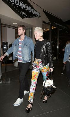 Miley Cyrus with awesome style