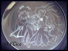"Assiette Personnage manga ""Sailor Moon"""