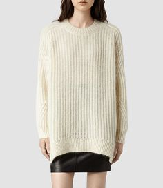 Womens Casse Sweater (Black) - product_image_alt_text_1