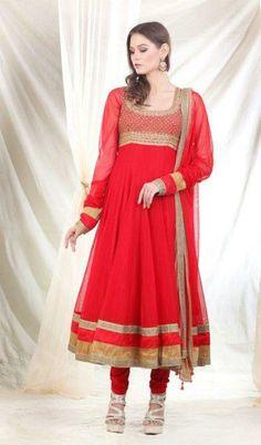 Latest Anarkali Salwar Kameez Designs 2014 Women. #pakistaniclothes, #designeranarkalisuits, #anarkalisalwarkameez, #salwarkameez, #pakistanisalwarkameez, #fashion
