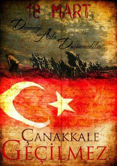 #MustafaKemalAtatürk #18MartÇanakkaleZaferi #ÇanakkaleGeçilmez  Gazi Mustafa Kemal Atatürk ve tüm şehitlerimize saygı ve minnetle...