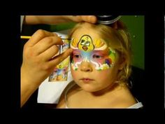 easter chick mask face painting