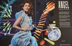 64727052b67 Angel Eau de Toilette campaign with Eva Mendes