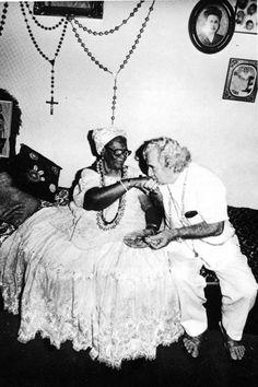 Mãe Menininha do Gantois e Jorge Amado
