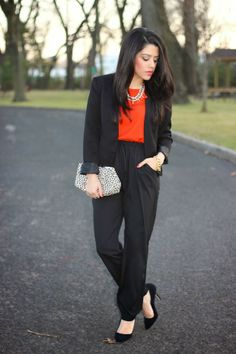 A Love Affair With Fashion : Relaxed Chic