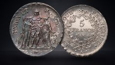 The Franc: A Coin, A Currency, and Orphan | Pocket Change Gold Exchange, Kingdom Of Denmark, History Taking, French Colonial, French Revolution, World Coins, Orphan, Roman Empire