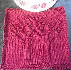 Banyan Tree Practice Dishcloth Afghan Square Block by Margaret MacInnis