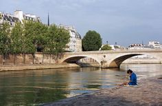 20 Ultimate Things to Do in Paris | Fodors: Just behind the Notre-Dame gardens, the Pont Saint-Louis pedestrian bridge leads to the atmospheric streets and lively shopping of the Ile Saint-Louis.