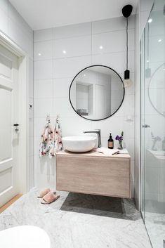 Decor Interior Design, Interior Decorating, Bathroom Cabinetry, Bathroom Designs, Bathrooms, Sweet Home, House Ideas, New Homes, House Design