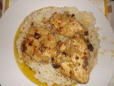 Lemon Garlic Chicken & Rice