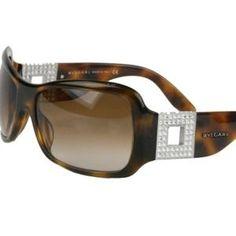 Bulgari Accessories - BVLGARI tortoise Swarovski adorned sunglasses