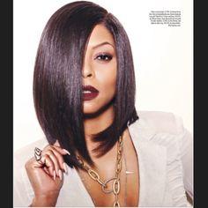 "taraji p henson's instagram ""Good morning ✌️ @miamimagazine @ashuntasheriff on face @kimblehaircare on hair @Johnrussophoto Is photographer #JamesAguiar_magazinedirector"""