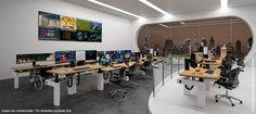 I-Kube : le poste opérateur assis / debout pour les salles de supervision - et pourquoi pas avec un ou des écrans(s) incurvés(s) ?