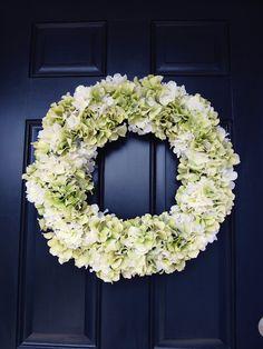 KrisKraft: Hydrangea Wreath