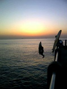 Surfing with the Sunrise ..