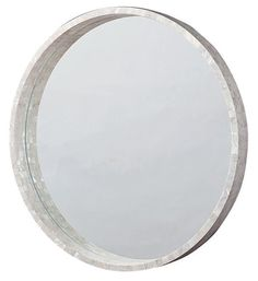 Large Mother-of-Pearl Mirror