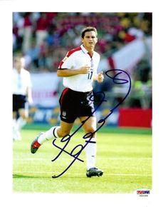 Frank Lampard Autographed 8x10 Photo Chelsea PSA/DNA #U54399